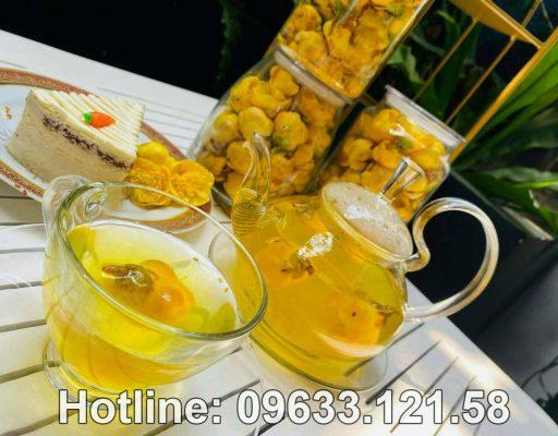 Mua trà hoa vàng ở Hưng Yên
